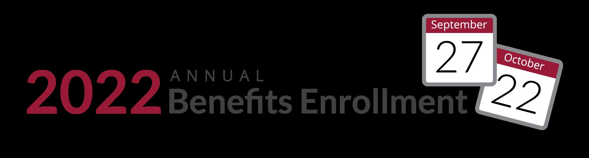 Annual Benefits Enrollment banner
