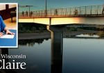 bridge on the UW-Eau Claire campus