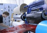 packaging students working in a warehouse