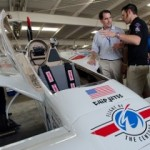 Gov. Scott Walker learns about planes