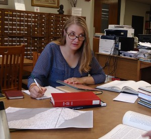 Research team member Madeline Tautges is of Belgian descent, and has a personal interest in preserving the Walloon language spoken by her ancestors.