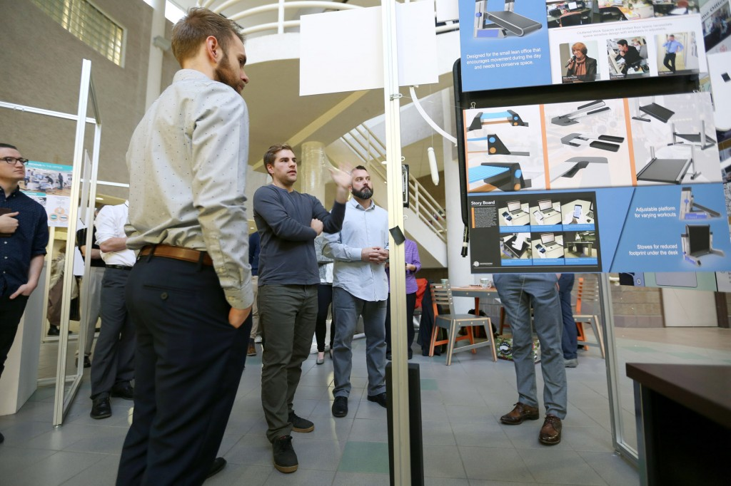 Uw stout industrial design students develop product ideas for Industrial design company