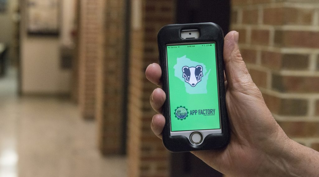 Ready Badger App developed by UW-Parkside students