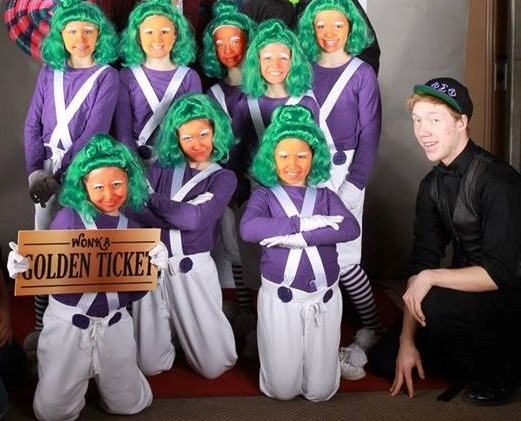 Larson was involved in the production of Willy Wonka with the Playhouse Theatre Group in Stevens Point last spring.