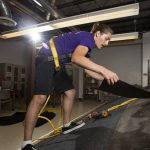 Roof built underground at UW-Whitewater puts safety to the test
