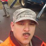 Nicholas Wengerd, a student in the UW Sustainable Management program