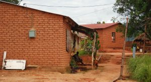 Rural homes in Mzuzu, Malawi, receive electricity from generators built by resident Hastings Mkwandwire, who participated in a U.S. leadership program at UW-Stout.