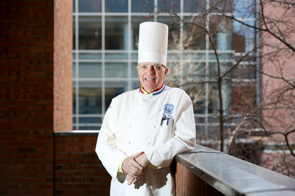 Phil McGuirk, a professor in UW-Stout's School of Hospitality Leadership.