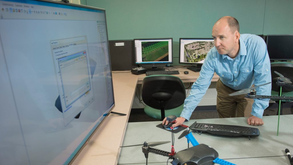 Wisconsin business owner Peter Menet is investing in UW-Eau Claire because its graduates have the kinds of geospatial skills his clients need.