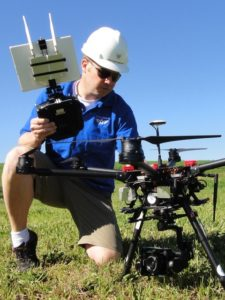 Dr. Joe Hupy, UW-Eau Claire associate professor of geography, is incorporating drones into more of his courses as demands for graduates with geospatial technology skills grows.