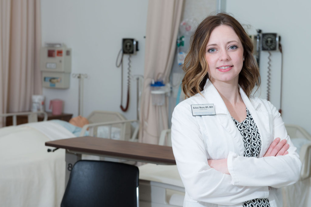 Kelsey Meyer, who earned a bachelor's degree in nursing from UW-Eau Claire in 2013, will graduate May 20 with her doctorate of nursing practice degree. She then will serve as a primary care provider with Prevea Health in her hometown of Cornell.