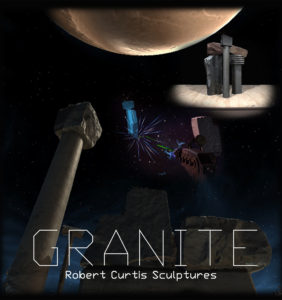 Image of Granite virtual reality experience sculptures