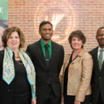 Photo of Kelly Semrau, Siva Shankar, Debbie Ford, and Emmanuel Otu