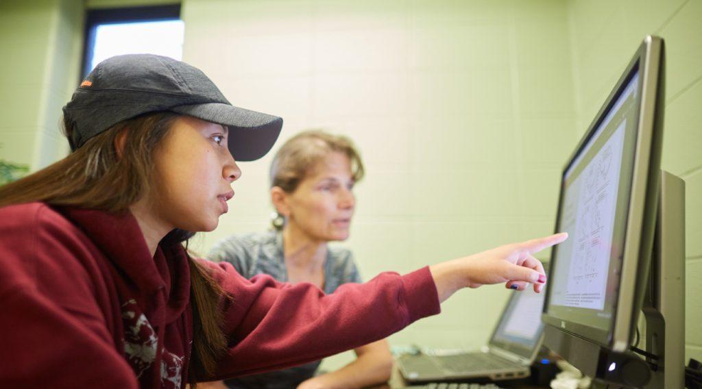 Photo of UW-La Crosse Ronald E. McNair Scholars Program participant