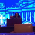 Photo of Bianca Ruffolo at the 2017 Newman Civic Fellows National Conference in Boston