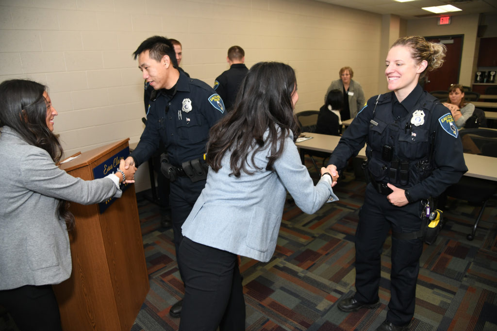 UW-Eau Claire research aims to improve police officers' health