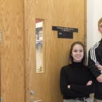 Photo of Mya Peterson and Sam Rozzoni, UW-Parkside students who won the UW-Parkside Big Idea Award in 2019.