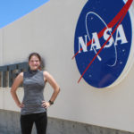 Photo of Eva Birtell, a junior environmental horticulture and biology major who completed a NASA research internship