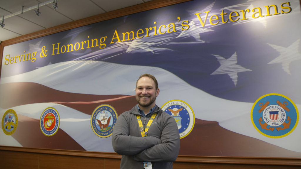 Photo of U.S. Army veteran Justin Rathkamp