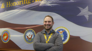 Photo of U.S. Army veteran Justin Rathkamp