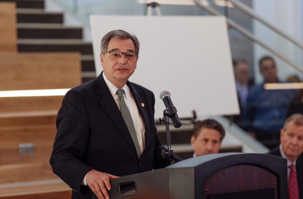 Photo of UW-Green Bay Chancellor Gary L. Miller