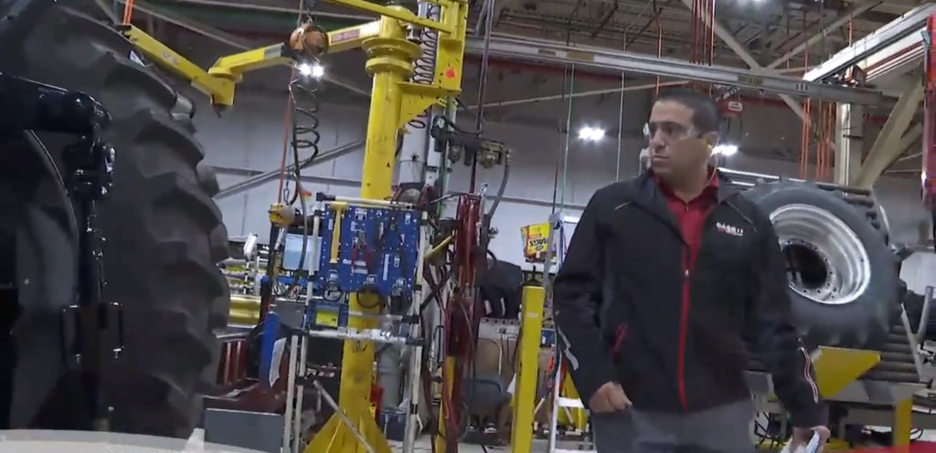 Photo of UW-Parkside alumnus Emilio Ruffolo, who works at CNH Industrial