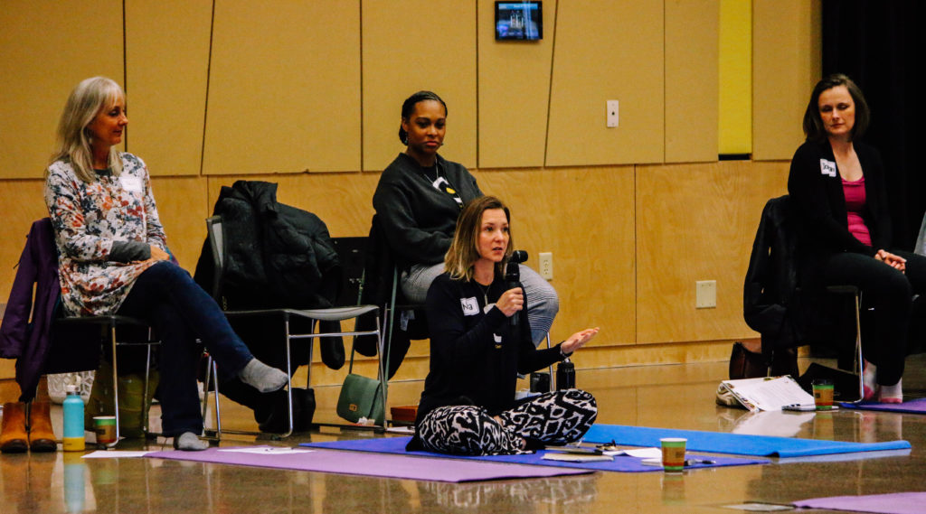 Photo of Mindfulness Leadership Workshop at UW-Superior