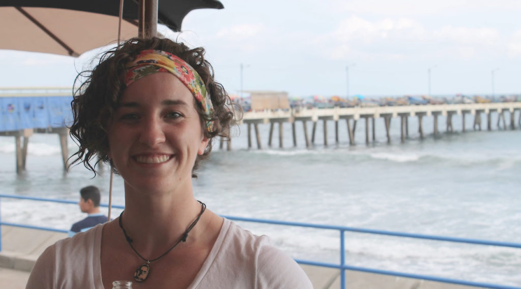 Photo of Kayla White, UW-Whitewater student who studied abroad in El Salvador