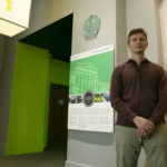 Photo of Carter O'Brien, who was driven to deepen his expertise as the Sustainability Officer at Chicago's Field Museum and is now a student in the Sustainable Management master's program