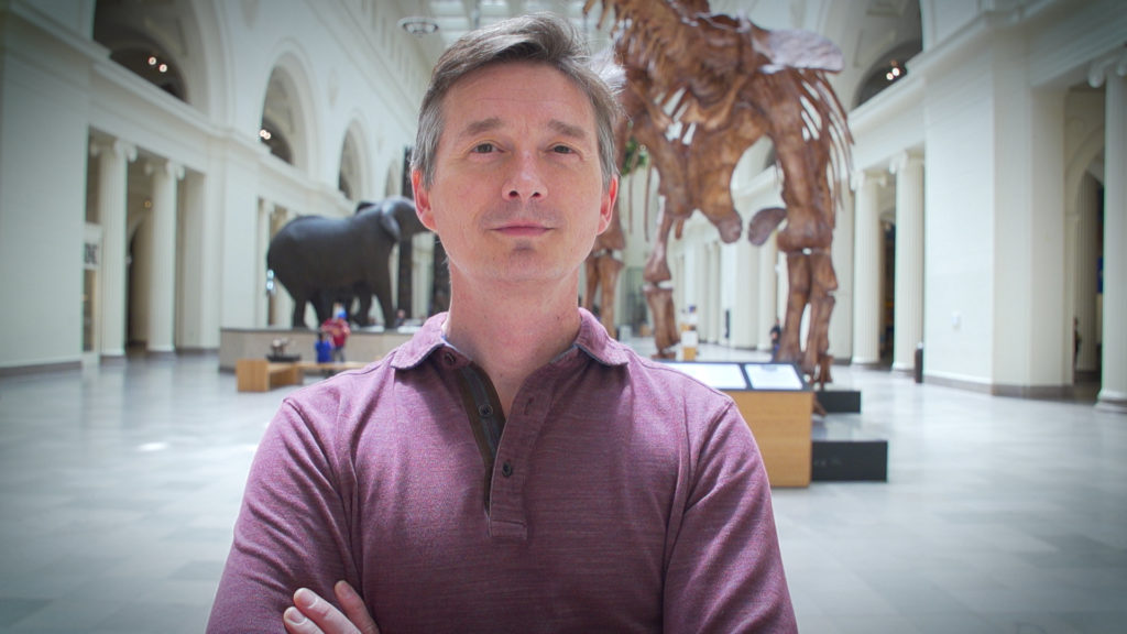 Photo of Carter O'Brien, was driven to deepen his expertise as the Sustainability Officer at Chicago's Field Museum and is now a student in the UW Sustainable Management program