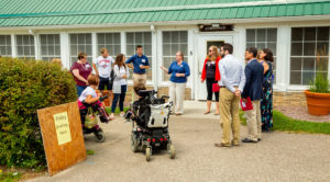 Photo of new UW-Madison nursing immersion program, which offers students meaningful, hands-on experience at respite camp