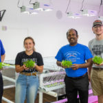 Ribbon-cutting ceremony at UW-Platteville for new hydroponics student-managed business