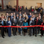 Photo of UWRF SBDC ribbon-cutting