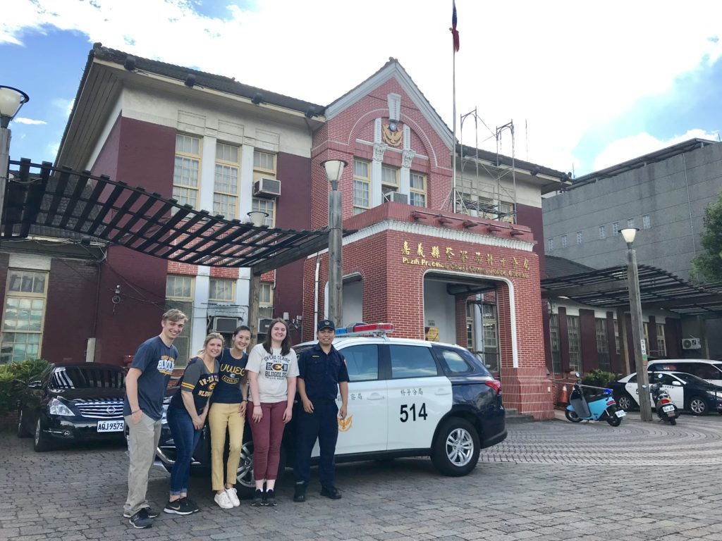 Photo of Dr. Ming-Li Hsieh, an associate professor of criminal justice at UW-Eau Claire, engaging students in collaborative and international immersion experiences to help them gain a broad understanding of multicultural justice.
