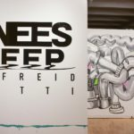 Photo of Knees Deep exhibit at UW-Green Bay