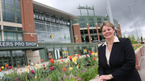 Photo of UW-Green Bay's Tara Carr, Director of the Small Business Development Center and Associate Lecturer