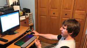 Photo of UW-Stout junior Joshua Ferkans