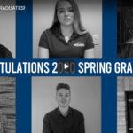 Screenshot of UW-Platteville graduation video collage
