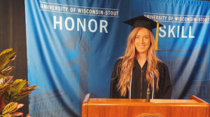 Photo of UW-Stout graduate Madalaine McConville