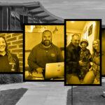 Photo collage of UW-Superior senior spotlight