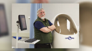 Photo of Carl Foster, an exercise and sport science professor at UW-La Crosse, who has been named to the U.S. Speed Skating Hall of Fame. Foster is being inducted as a contributor to the sport after spending three decades as an exercise physiologist for Team USA.