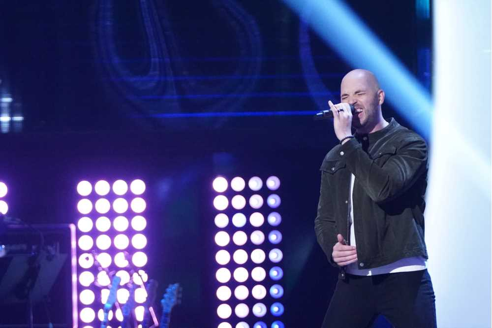 """Photo of Aaron Scott, a 2007 alum of UW-La Crosse, who appeared on """"The Voice"""" this fall."""