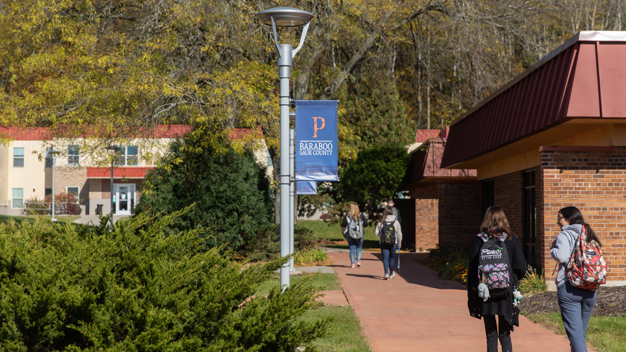Photo of UW-Platteville Baraboo Sauk County campus, where a new associate's degree in hospitality and tourism will be offered, a partnership between UW-Platteville and UW-Stout.