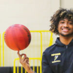 Photo of J'Vaun Walker, basketball recruit and stand-out scholar, who chose UW-Superior for the family feeling