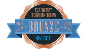 Logo for ASEE Diversity Recognition Program - Bronze awarded to UW-Platteville