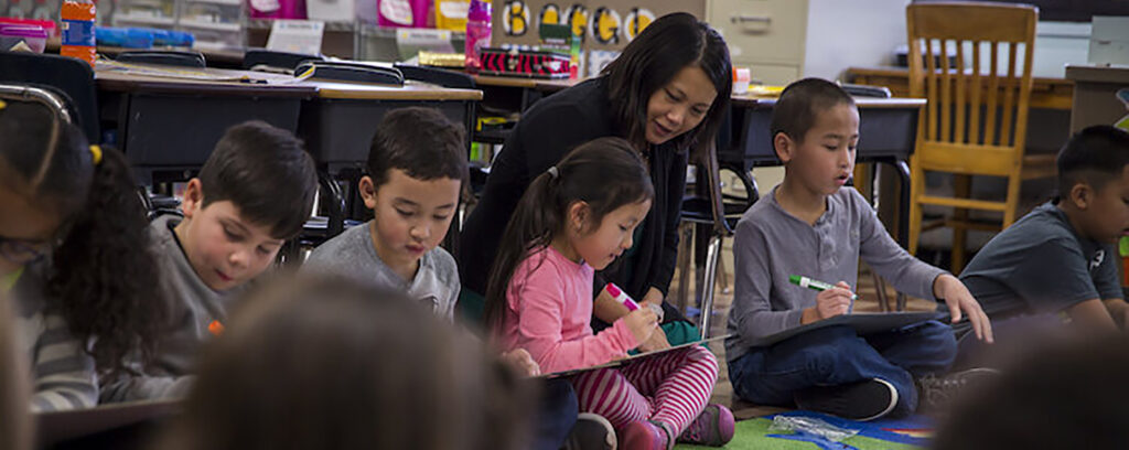 Photo of Hmong education classroom (UW-Whitewater)
