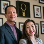 Photo of UW Oshkosh alumni Kou and Sheng Lee Yang