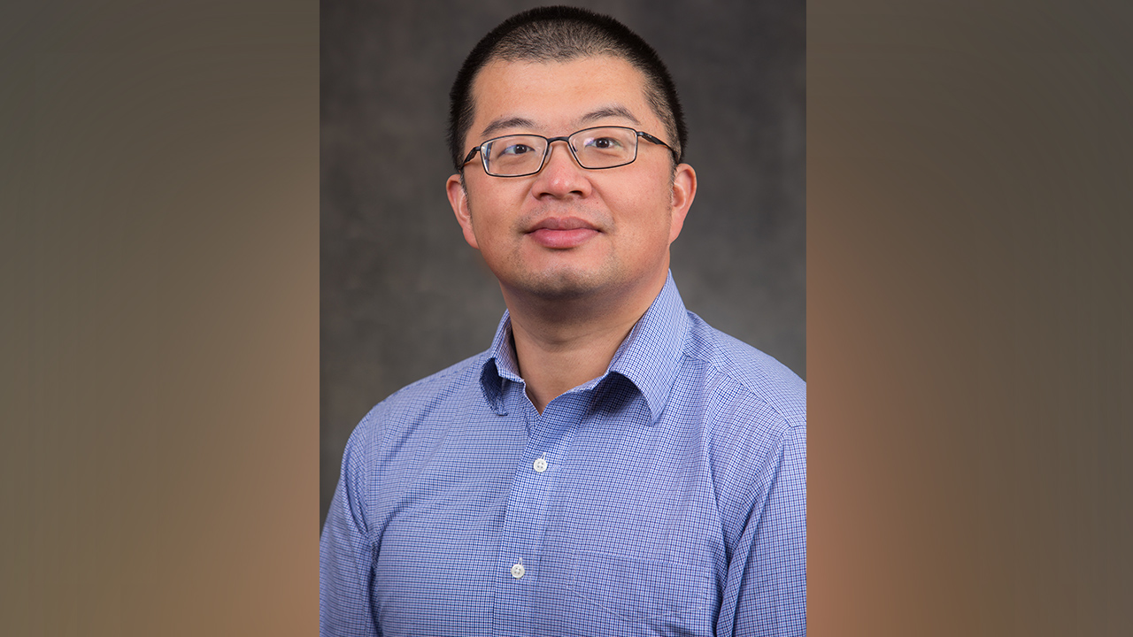 Photo of Dr. Xiaoguang Ma, assistant professor of electrical and computer engineering.