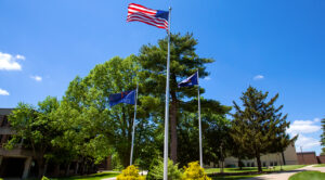 Photo of flags