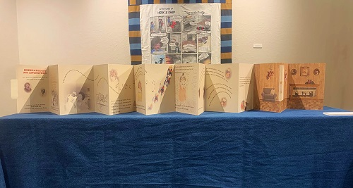 Photo of Chapbook artwork by Karen Drewry, UW-Stevens Point graduate
